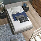 CHAMONIX BED 120 IN GREY