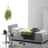CHAMONIX SINGLE BED WHITE