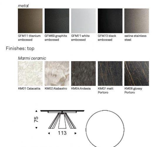 eliot keramic round details